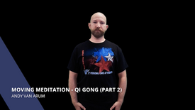 Moving Meditation - QiGong (Part 2)