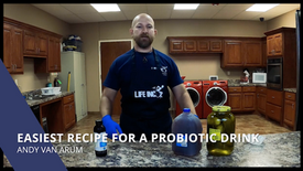 Easiest Recipe for A Probiotic Drink