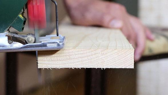 Wood Cutting Using Jigsaw