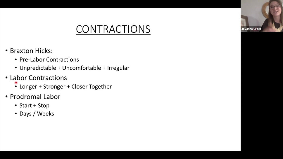 Lesson 2: Baby's Position & Contractions