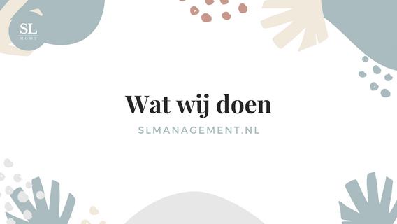 Wat doen wij? - slmanagement.nl