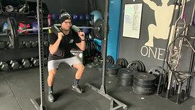 Safety bar squat