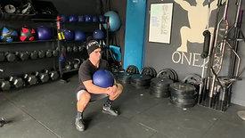 Dead ball squat