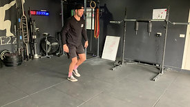 Dynamic lunge and rotation