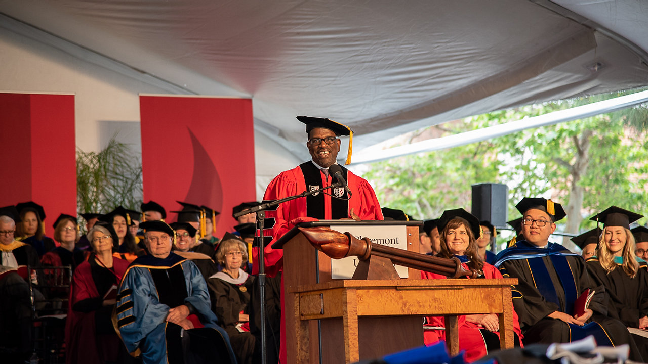 Dr. Daniel E. Walker Awarded an Honorary Doctorate from Claremont Graduate University