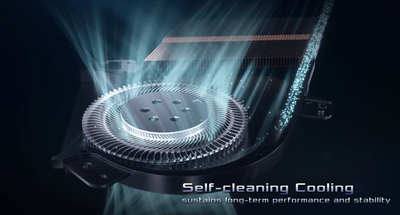 ROG Intelligent Cooling 散熱片