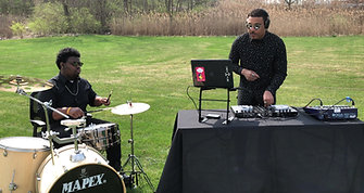 DJ & Drummer Duo