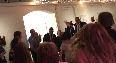 Wedding Dancing at Hedge Gallery
