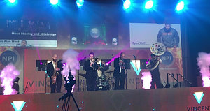 Revolution Brass Band at NPi Entertainment Launch Party