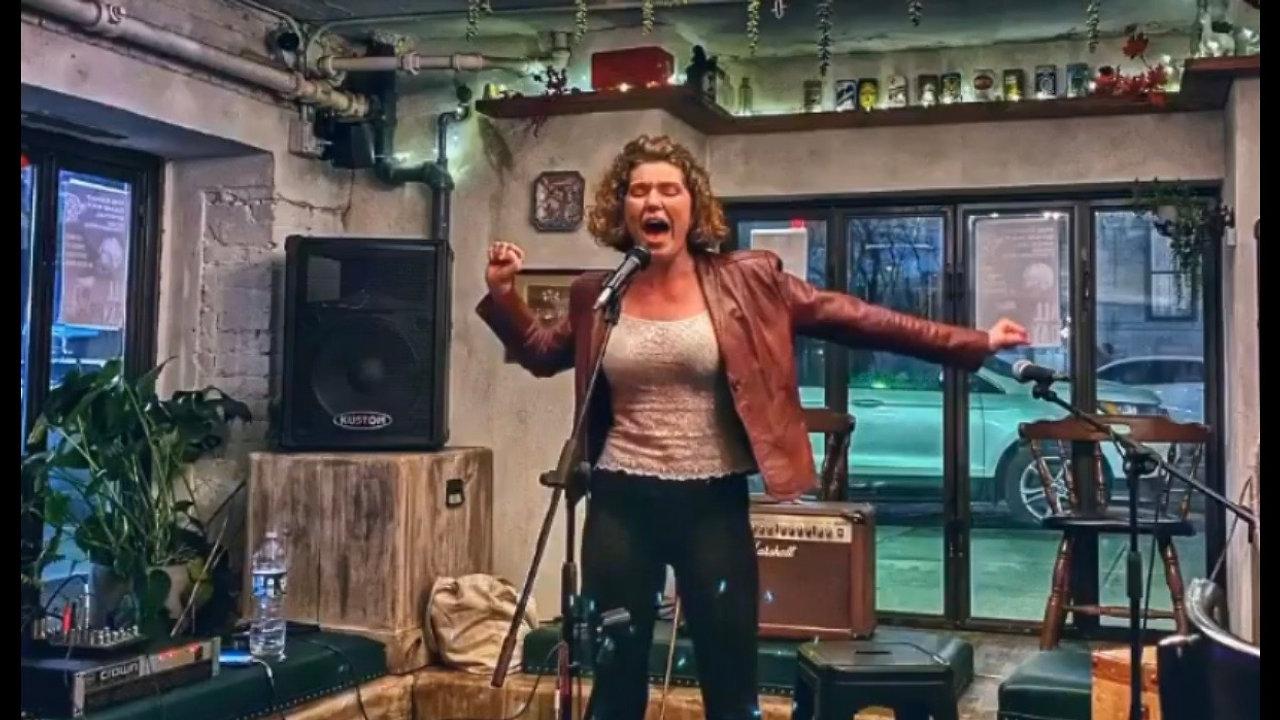 Performing (Singing)