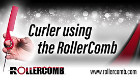 Curler using the RollerComb™