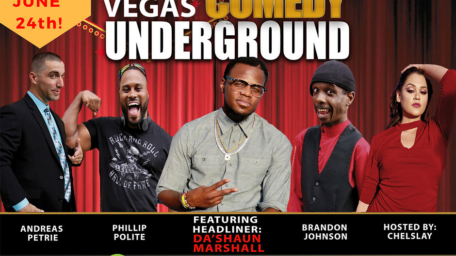VEGAS COMEDY UNDERGROUND Netflix Episode (Audio)
