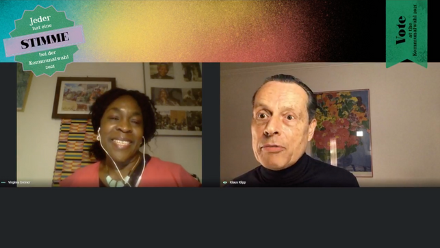 Live-Interview with Virginia Wangare Greiner!