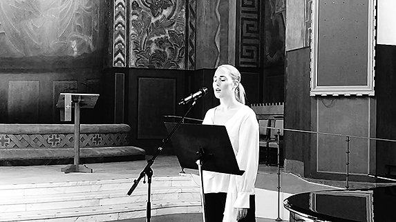 Repetition inför dop i Vasakyrkan