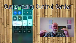 Customizing Control Center