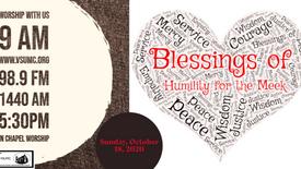 October 18, 2020 Worship