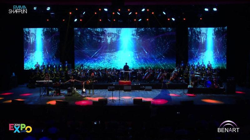 Emma Shapplin Concert Live Expo (extrait)