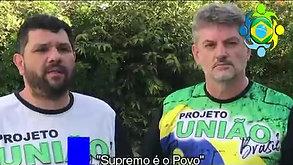 OSWALDO EUSTÁQUIO - apoio Projeto União Brasil