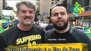 DEP. GIL DINIZ - apoio ao Projeto União Brasil