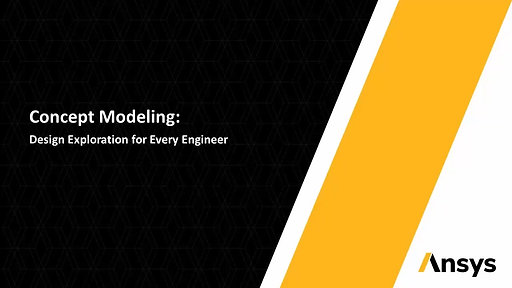 Ansys SpaceClaim Concept Modelling