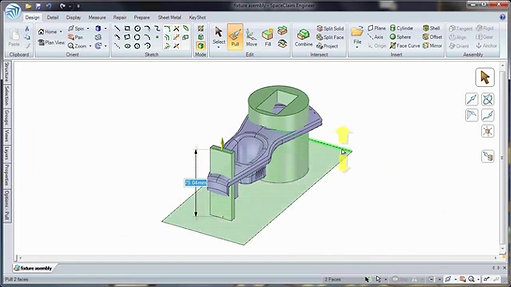 Level Up your CAD for Manufacturing with Ansys SpaceClaim