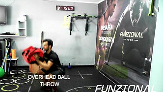 OVERHEAD BALL THROW