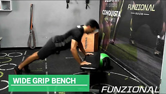 WIDE GRIP PUSH UP BENCH