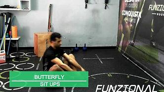 BUTTERFLY SIT UPS