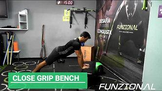 CLOSE GRIP PUSH UP BENCH