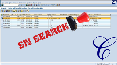 Serial Number Search