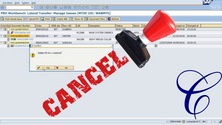 Cancel Document Transfer
