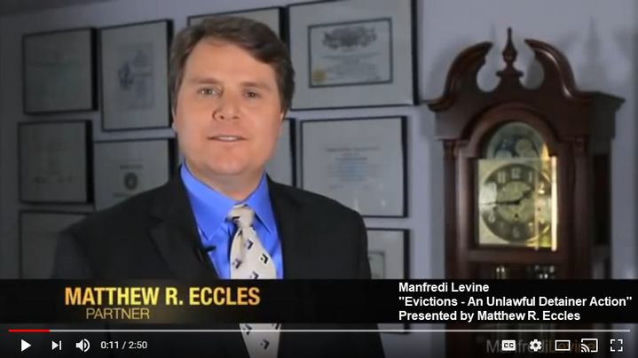 Matthew Eccles Videos