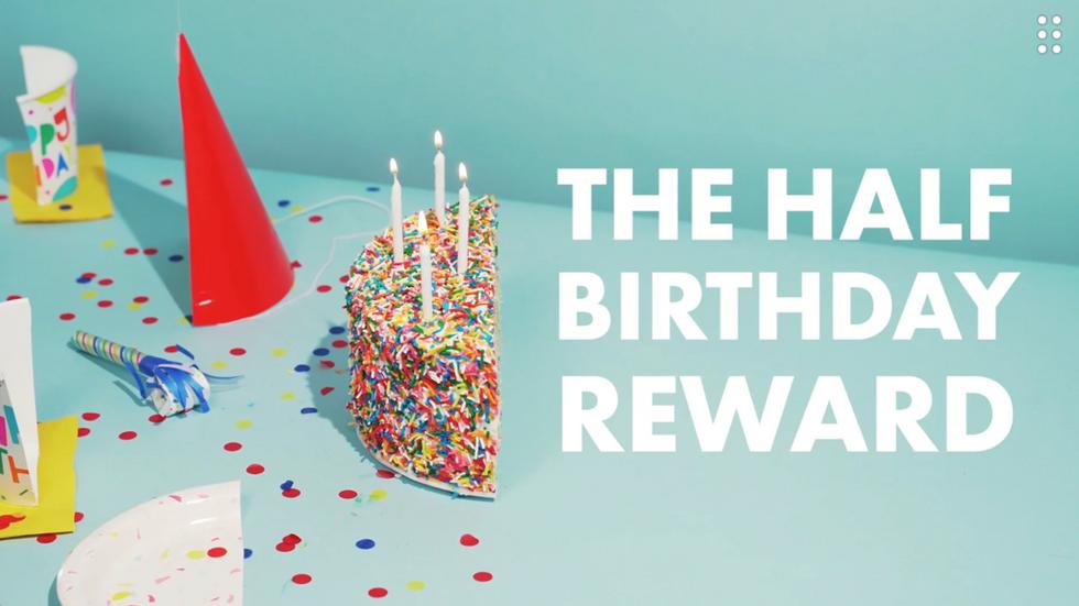Dutch Bros / Half Birthday Reward