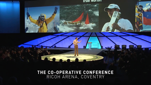 Manley Hopkinson - public speaking showreel. Lessons from the Artic.