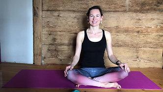 Abend Yoga Flow - 10 Minuten