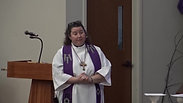 Third Sunday in Lent by Pastor Meredith