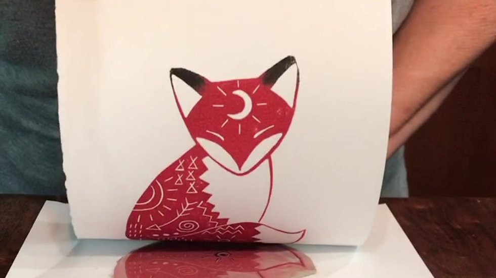 Printing the Little Red Fox