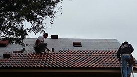 Brava Composite Roof tile installed in