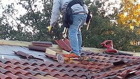 Brava Composite Roofing tile install Video
