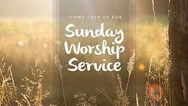 Pentecost Sunday, May 31, 2020 Worship and Service
