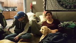 College Students Hannah, Ali, and Dani