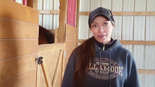 Nicole Mitchell, Equine Coordinator of Youth Dynamics