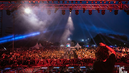 Smokey At Life In Color Festival, (Part 1 - Drum And Bass)