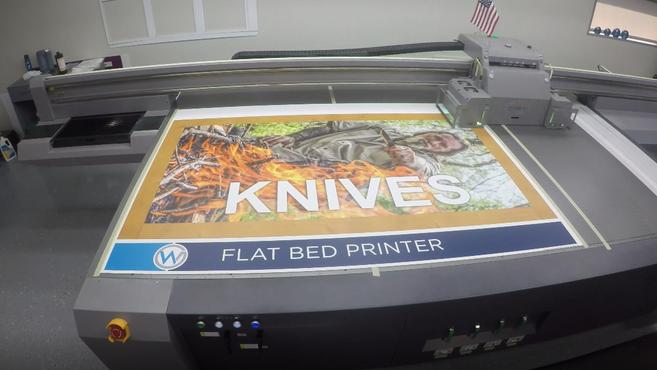 Flat Bed Printer Video Final
