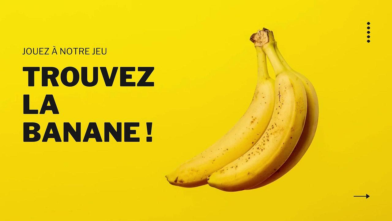 Trouvez la banane !
