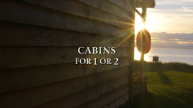 'Kenai', 'Iliamna' & 'Redoubt': Cabins for 2