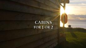 'Kenai', 'Iliamna' & 'Redoubt': Cabins for 2