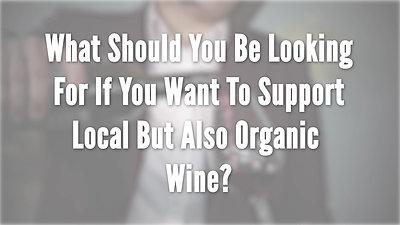 Organic Wine- Wine & Food Show 2020