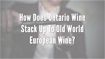 Ontario Wine- Wine & Food Show 2020