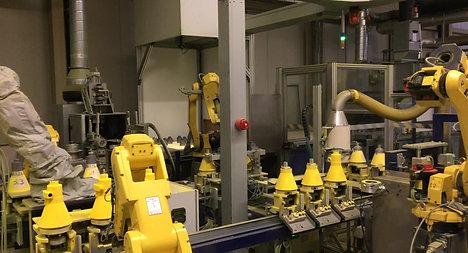 Roboter Anlage